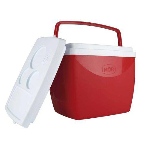Caixa Térmica Cooler 18 Litros com Alça - Mor