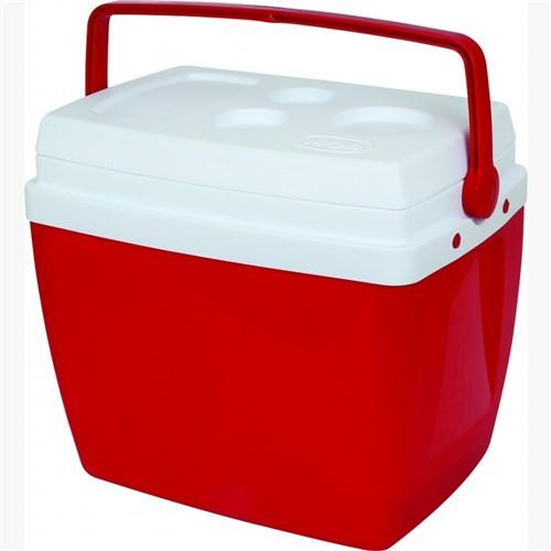 Caixa Térmica Mor 26 Litros - Vermelho