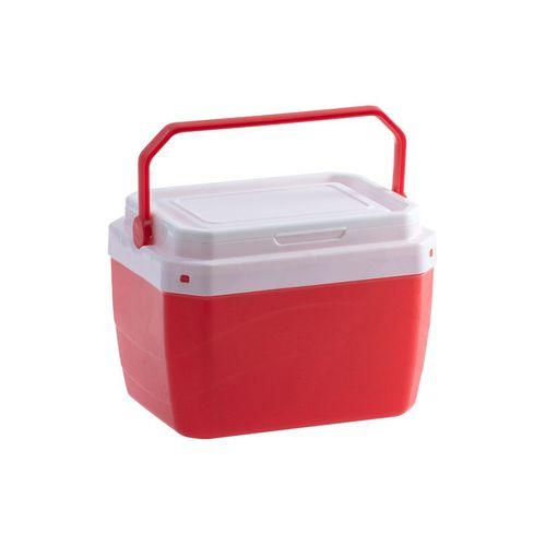 Caixa Térmica Plástica Vermelha 6 Litros
