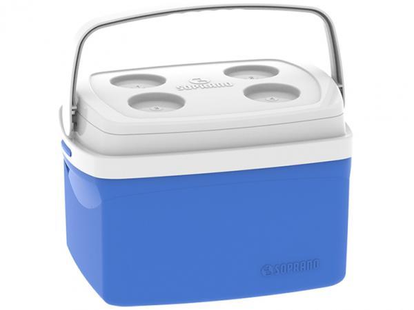Caixa Térmica Soprano 12L Tropical - Azul