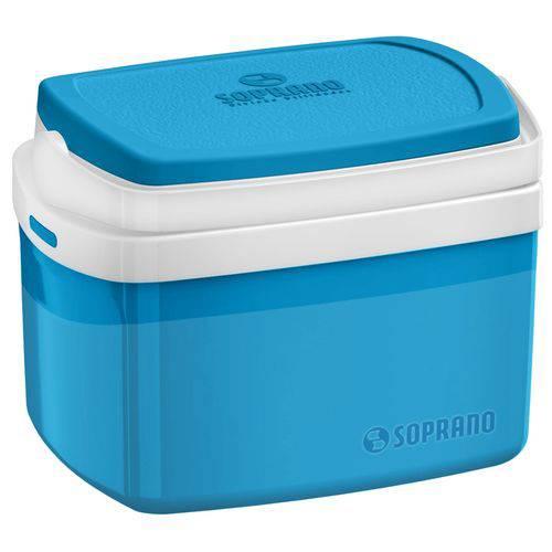 Caixa Térmica Soprano Azul 5 Litros