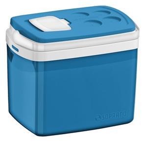 Caixa Térmica Soprano Azul 32 Litros