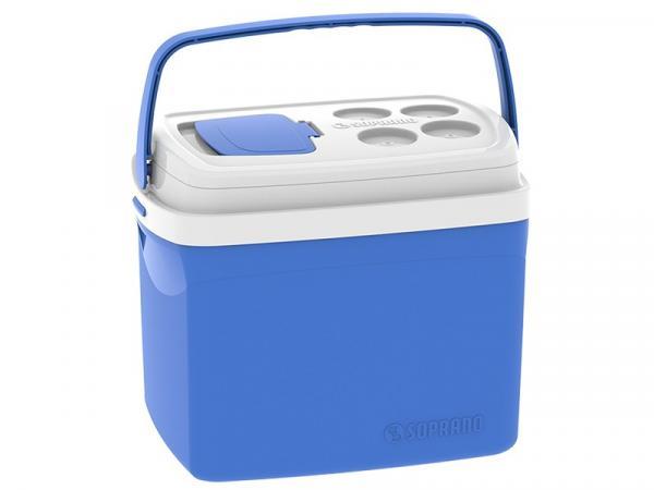 Caixa Térmica Soprano 32L Tropical - Azul