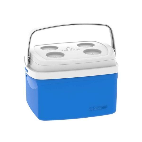 Caixa Térmica Soprano Tropical 12L Azul