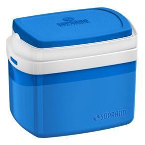 Caixa Térmica Soprano Tropical 5 Litros Azul