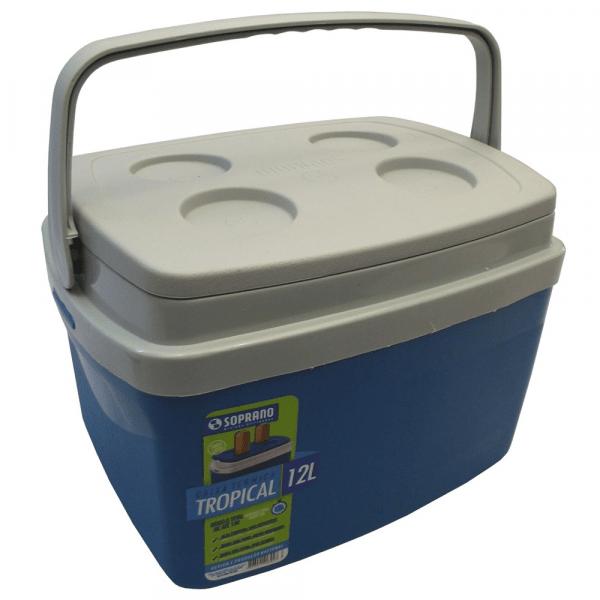 Caixa Térmica Tropical 12 L Azul Soprano