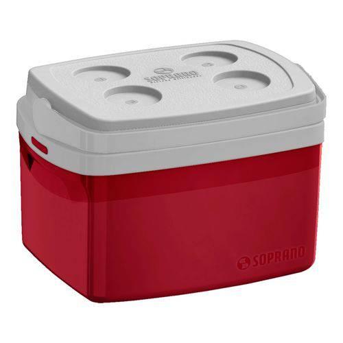 Caixa Térmica Tropical 12 L Vermelha