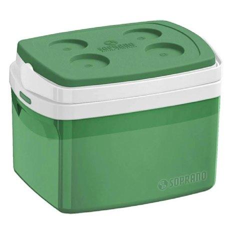 Caixa Térmica Tropical 12 Litros Soprano - Verde