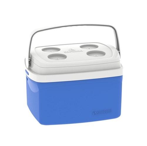 Caixa Térmica Tropical 12L Azul Soprano