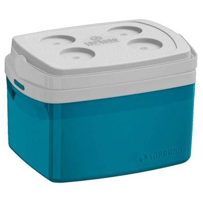 Caixa Termica Tropical 12l Azul Soprano