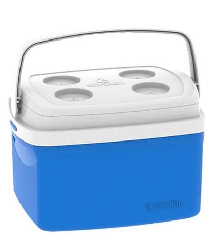 Caixa Térmica Tropical 12L Soprano Azul