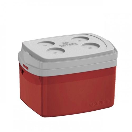 Caixa Térmica Tropical 12L Soprano Vermelho