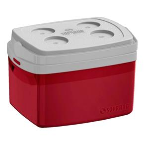 Caixa Térmica Tropical 12l - Vermelho