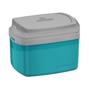 Caixa Térmica Tropical 5 Litros 09003.5060.55 Azul - Soprano