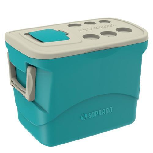 Caixa Termica Tropical 50l Azul - Soprano