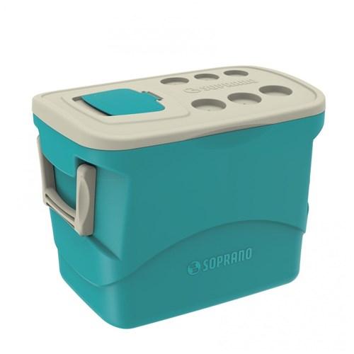 Caixa Térmica Tropical 50L Soprano Azul