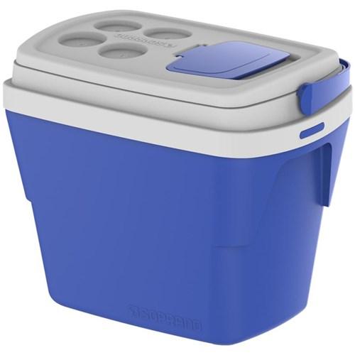 Caixa Térmica Tropical 28L Soprano 09000.0121.55 Azul