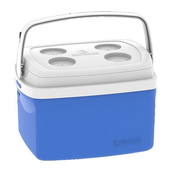 Caixa Térmica Tropical Azul 12 Litros Soprano