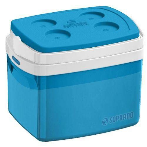 Caixa Termica Tropical Azul 12l Soprano