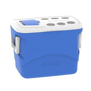 Caixa Térmica Tropical Azul 50 Litros com Alça Soprano