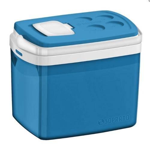 Caixa Térmica Tropical com Acesso Rápido 32 Litros - Soprano (Azul)