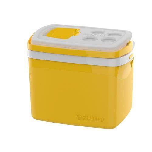 Caixa Térmica Tropical 32l Amarela Soprano