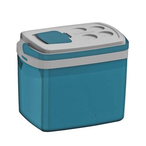 Caixa Térmica Tropical 32L Soprano Azul