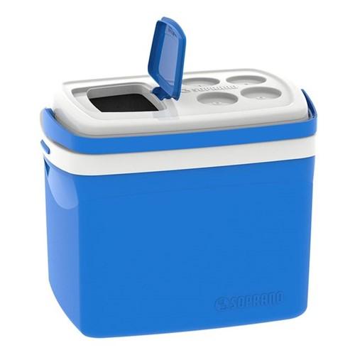 Caixa Térmica Tropical 32 Litros Soprano Azul Azul