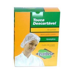 Caixa Touca Descartável C/100 - Protdesc