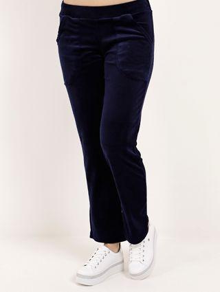 Calça de Plush Feminina Azul Marinho