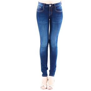 Calça Feminina Jeans 01CF240100 Lança Perfume - Azul Marinho - Tamanho 44 - Azul Marinho