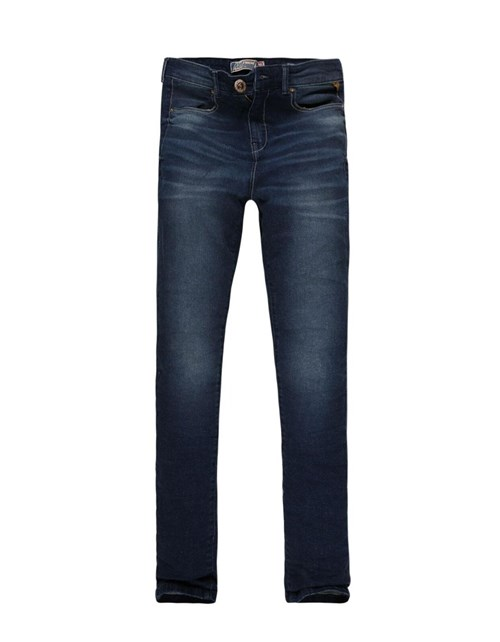 Calça Feminina Khelf Jeans Cintura Alta Jeans