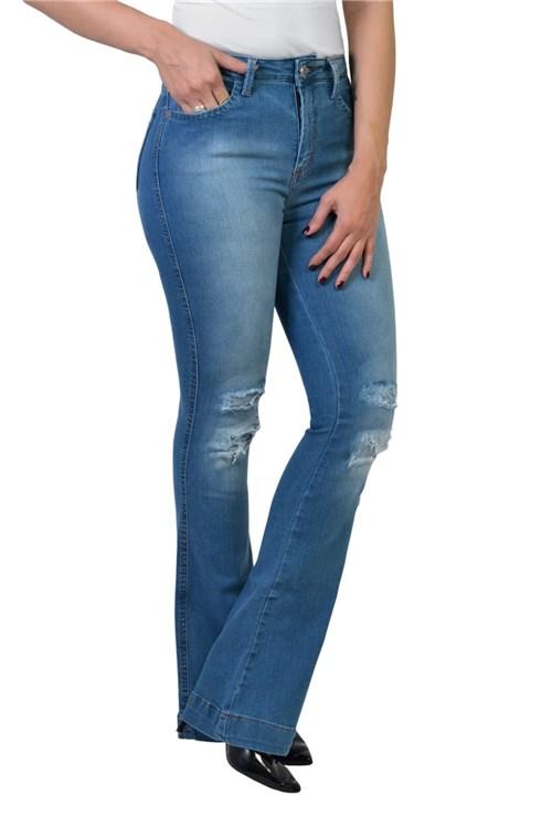 Calça Flare Jeans Clara Yck's