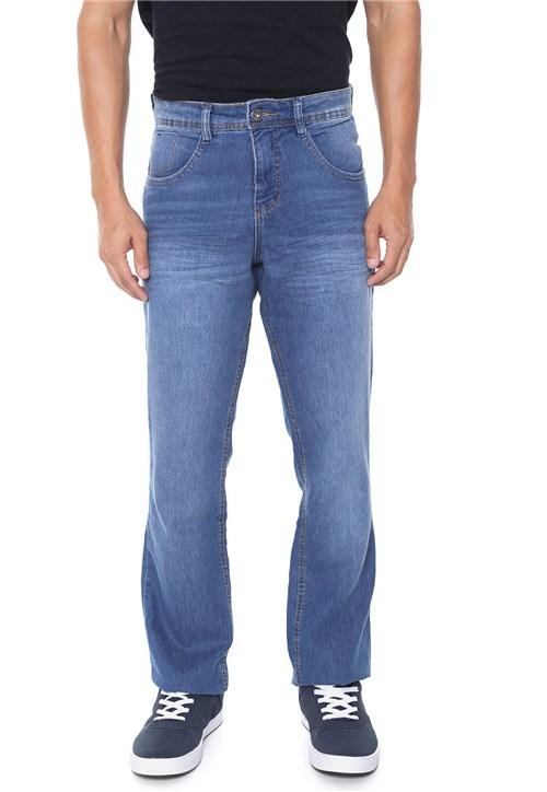 Calça Jeans Biotipo Reta Estonada Azul