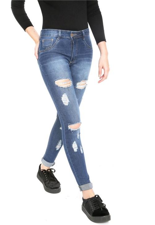 Calça Jeans Biotipo Skinny Comfort Azul