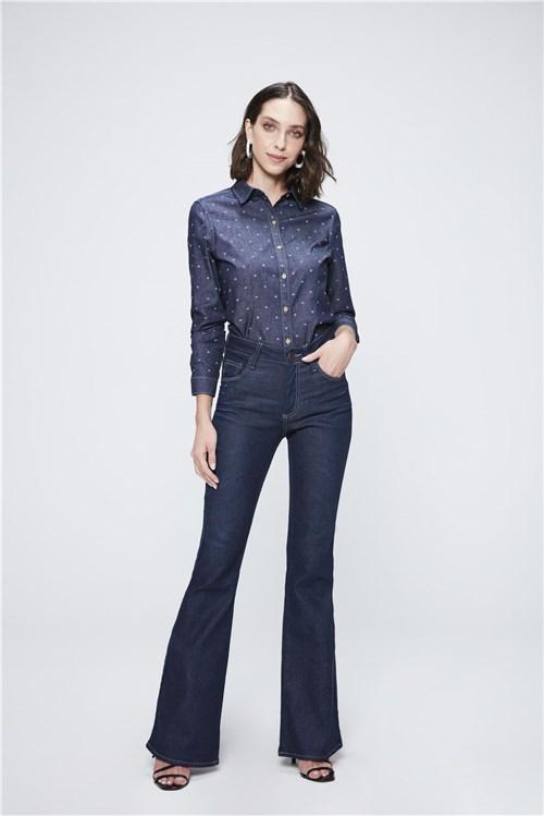 Calça Jeans Boot Cut Ecodamyller