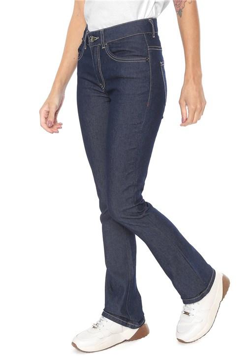 Calça Jeans Cavalera Bootcut Manuela Azul