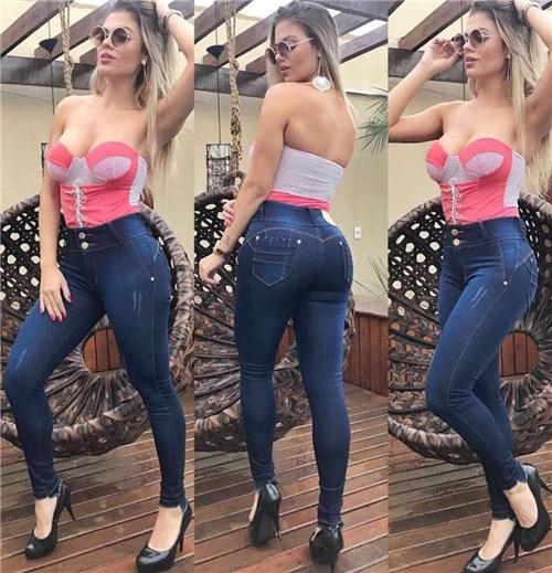 Calça Jeans Cintura Alta 02