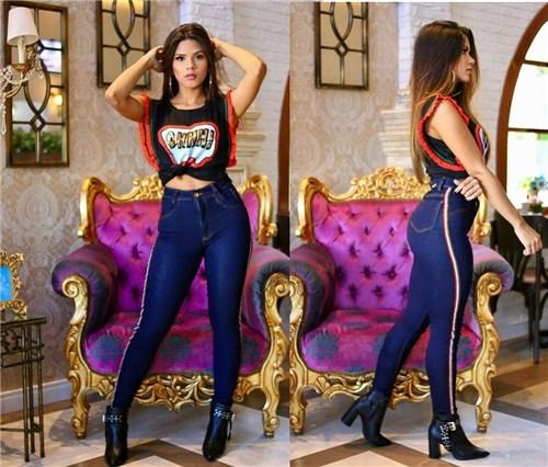 Calça Jeans Cintura Alta (34)