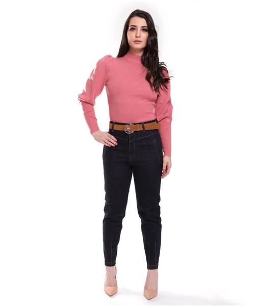 Calça Jeans Cintura Alta - 49222-1