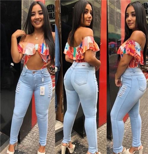 Calça Jeans Cintura Alta (36)