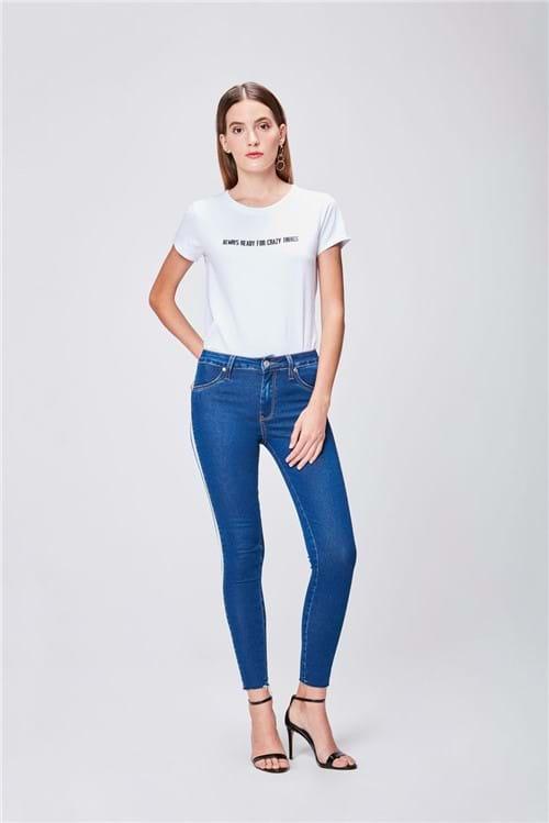 Calça Jeans Cintura Alta Feminina