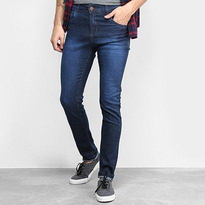 Calça Jeans Coffee Slim Stone Masculina