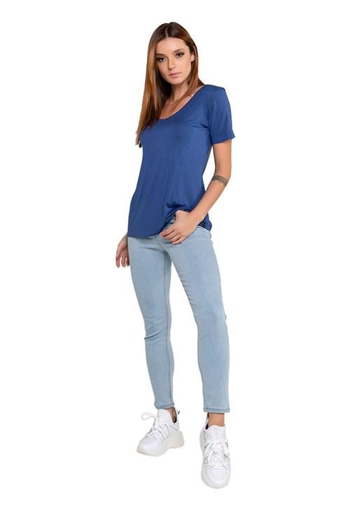 Calça Jeans Cropped Cintura Alta Latifundio