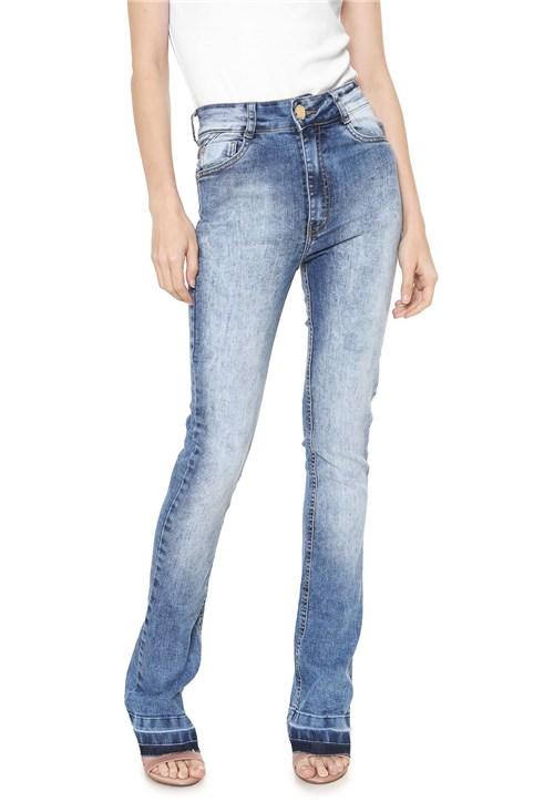 Calça Jeans Dimy Bootcut Sarah Azul