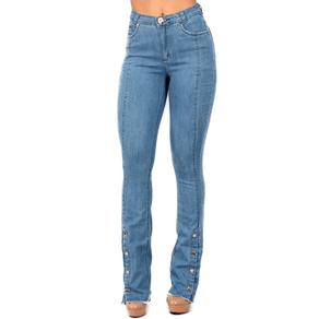 Calça Jeans Edex Boot Cut Modeladora. 36