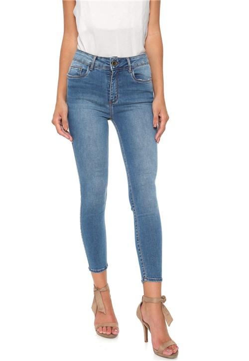 Calça Jeans Enna Skinny Cropped Azul