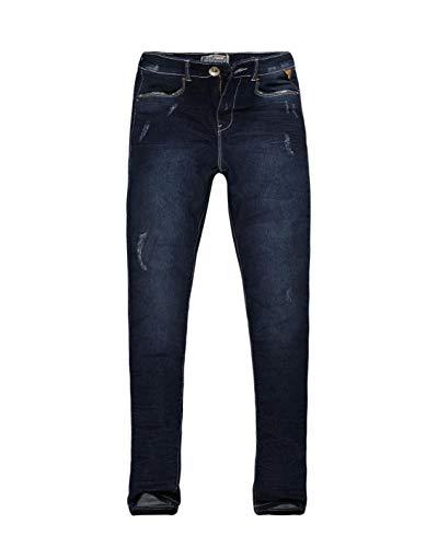 Calça Jeans Feminina Cintura Alta Khelf