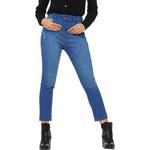 Calça Jeans Feminina Cropped Azul F+