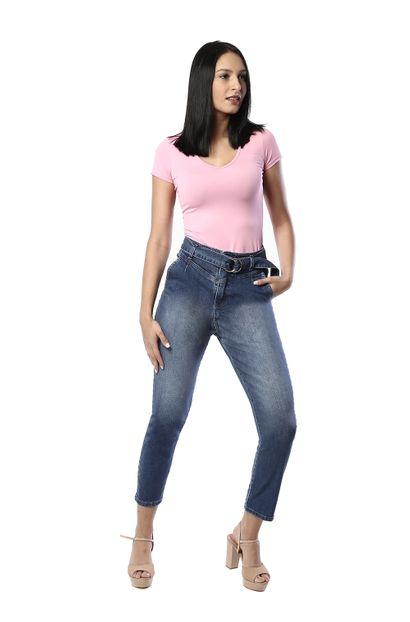 Calça Jeans Feminina Mom - 261197 36